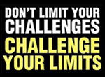 B&B logo: Don't limit your challenges. Challenge your limits.